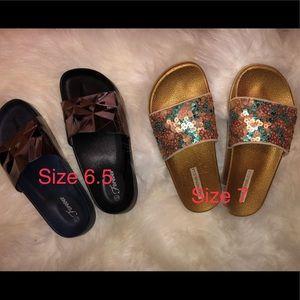 Shoes - ❣️ Beach slides - 2 pair